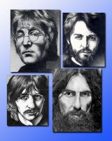 BEATLES Composite by martyparkerart