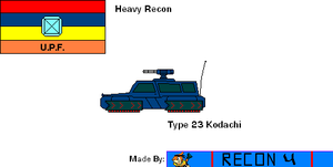 Starfox Hybird Ascension Profile: Jeep: Type 23 by BusterBuizel