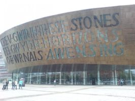 Millenium Centre, Cardiff. by 3moFairee2007