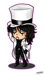 Alice Cooper Chibi by SavanasArt
