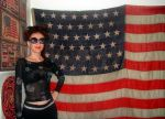 My antique American flag with 45 stars by SOFIAMETALQUEEN