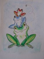 One Frog, Two Frog... by CrimsonCricket