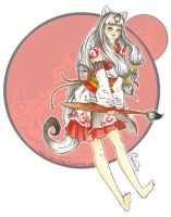 Okami - little divine painter by PunVisual