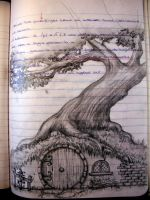 my notebook-bag end by aryundomiel