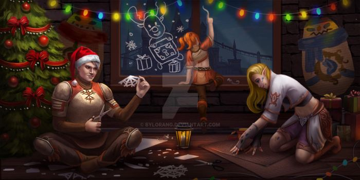 New year by bylorang