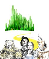 The Wonderful Wizard of Oz by Nyu-Lilu