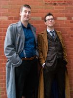 ALCON Jack Harkness and 11th Doctor by TPJerematic