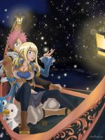 NaLu: The stars fell on earth... by Joshdinobarney