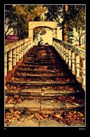 Autumn Stairs by Riffo