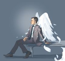 Christoph in wings by GeniusBee