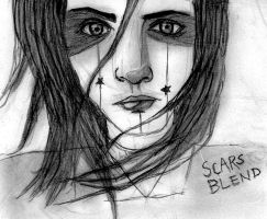everyone can see these scars by Andaelentari