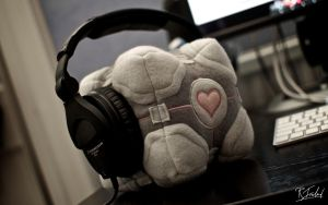 Companion Cube by richardsim7