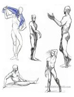 Life Drawings- 14 by andrewk