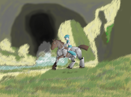 ride on a horse by Alex2072