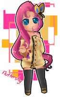 MLP FIM Humans: Fluttershy by GeekyKitten64