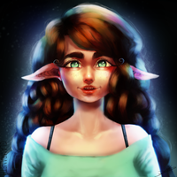 Happy Elf (Photoshop Practice) by Glamra