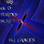 Stars and Stripes Script by FracFx
