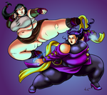 Commission: Tifa vs Rose - 2 of 4 by Ray-Norr