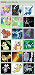 my favourite pokemon by type by transformers901