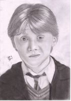 Ron Weasley by Bee-Minor