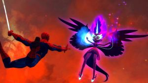 Spiderman VS Midnight Sparkle by ErichGrooms3