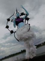 Dreamworld Thundurus Cosplay [Black Adventures] by Shonen-Ai-Freak94