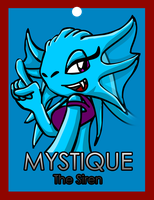 Mystique Conbadge by ARTic-Weather