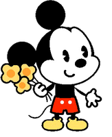 mickey anime 1 png by florchu1