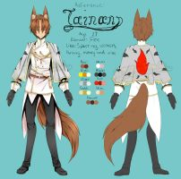 OC: Tainan Ref~ by Toffee-Tama
