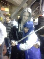 Me and Sephiroth! by xenya-cullen