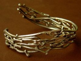 Twiggy Bangle Cuff by MarieCristine