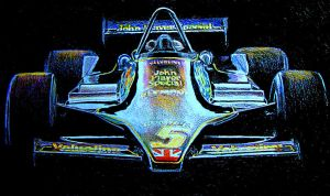 Lotus 79 by johnwickart