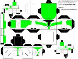 Cubee - Cmdr Gree by CyberDrone