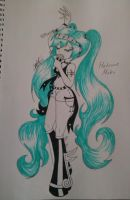 Hatsune Miku by DeadGotashi