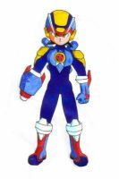 Rockman X coloured by prime92