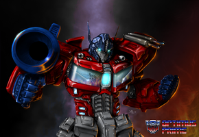 OptimusPrime by Deadricbob