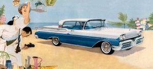 age of chrome and fins : 1958 Mercury by Peterhoff3