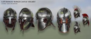 Late Roman 'Burgh Castle' Helmet by RobbieMcSweeney