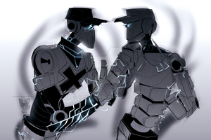 OFF:TF2: Robots batter and scout by DarkLitria