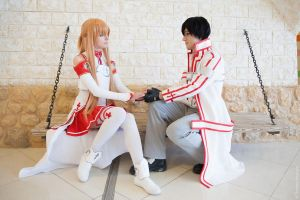 Asuna and Kirito 2 by AmethystPrince