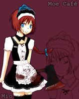 ::YANDERE-maid:: by peppermint-love