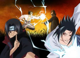 Sasuke vs Itachi by Ds-Seraphim