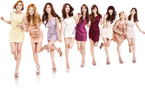 SNSD Render #1 by VieshaELF