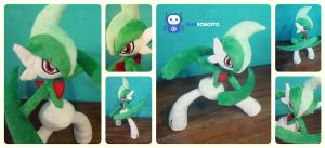 Gallade by BlueRobotto