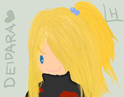 Deidara Chibi by lonely-hime