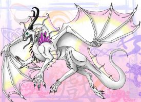 The White Dragoness by dragonmad1988