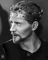 Henry V Portrait Study by Spikings