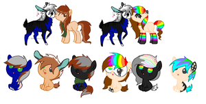 Foals 6- For Lilybelle101 by Rainbow-ninja-adopts