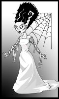 The Bride of Frankenstein by memorypalace