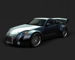 Nissan 350Z by Alienmatos